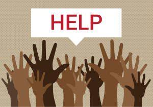 Hulp is noodzaak