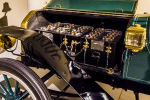 Eerste elektrische auto, 1908